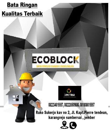 bata ringan ecoblock